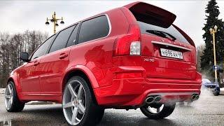 Самая крутая в России VOLVO XC90 V8 4.4!) Мотор от YAMAHA, 22 VOSSEN'ы, обвес!) Тест-обзор : )
