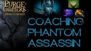 Dota 2 Phantom Assassin Coaching