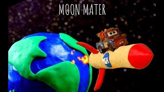 Mater Shoots to the Moon on his own personal Rocket CARS Tall Tales MOON MATER
