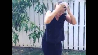 Tessanne Chin Ice Bucket Challenge