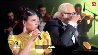 """أبو حفيظة يقلد لطيفة ويقدم أغنية """"ِشوف الحصري في """"التليفزيون المصري"""""""