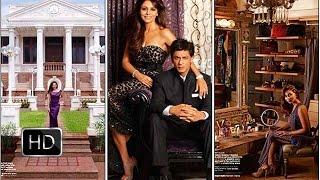 Inside Video of Shahrukh Khan's House Mannat