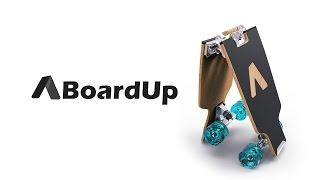 BoardUp - The Folding Longboard