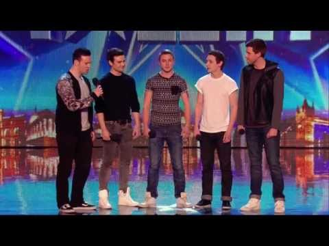 Britain's Got Talent S08E01 Collabro Amazing Classical  Musical Boy Band