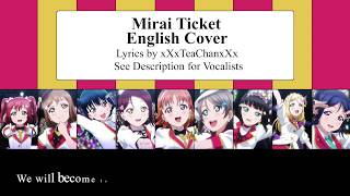 "[LLS] ""Mirai Ticket"" English Cover (Aqours)"