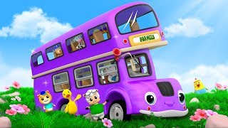 The Wheels On The Bus | Kindergarten Nursery Rhymes For Children by Farmees