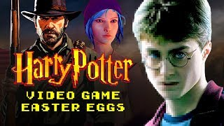 The Best HARRY POTTER Easter Eggs in Video Games