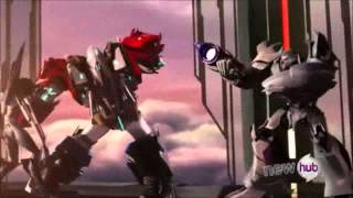 Transformers beast hunters Optimus prime vs Megatron