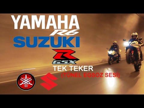 Suzuki GSXR1000 | YAMAHA R6 | (tünel tek teker)