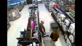 Walmart Theft 04/10/14