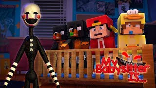 Minecraft MY BABY SITTER IS...... FNAF PUPPET MASTER!!!! - Donut the Dog