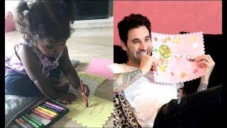 Sunny Leone Daughter Nisha Made Raksha Bandhan Card For Daddy Daniel Weber