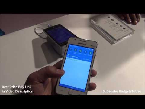 Samsung Z1 Tizen OS Phone Hands on Review, Camera and Features Overview