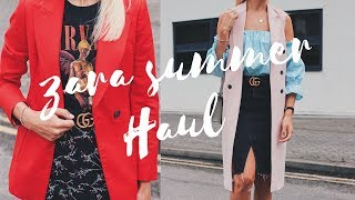 ZARA SUMMER SALE HAUL / TRY ON SESSION