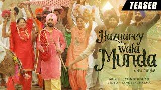 Satinder Sartaaj - Hazaarey Wala Munda | Official Teaser [Hd] | New Punjabi Songs 2016