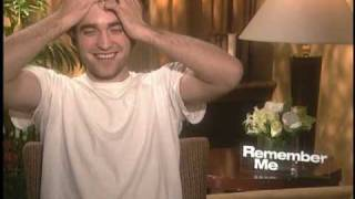 Robert Pattinson Interview for REMEMBER ME