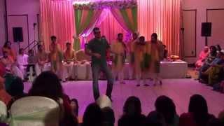 Saad & Sheba Mehndi Skit and Dance