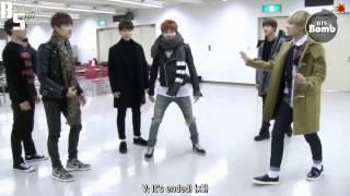 [ENG] 150315 BOMB: BTS' rhythmical farce! LOL