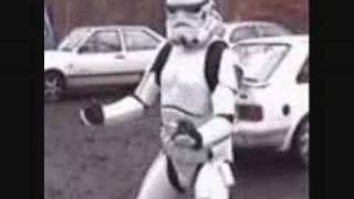Star Wars music video - with funny trooper dance