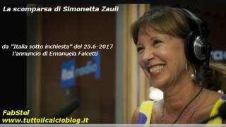 La scomparsa di Simonetta Zauli, annuciata su Radiouno da Emanuela Falcetti