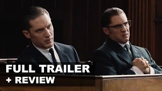 Legend 2015 Official Teaser Trailer + Trailer Review - Tom Hardy : Beyond The Trailer