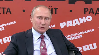 Putin: It's up to Washington, not Moscow, To Improve Ties Between Russia and America