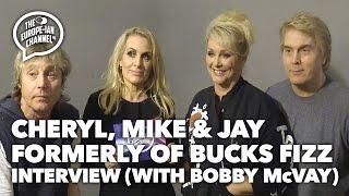 Cheryl, Mike & Jay formerly of Bucks Fizz and Bobby McVay