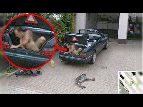 15 Disturbing Things Found on Google Street View
