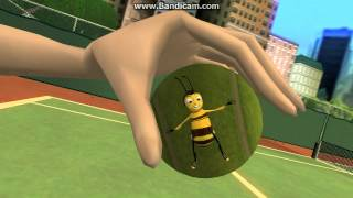Bee Movie Game Walkthrough Part 2 - Bee Ball - Mission 2