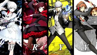 Crossing Fate (RWBY X Persona 4 Arena Mix)