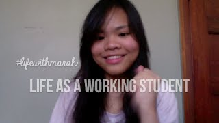VLOG: Life As A Working Student