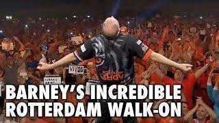 Raymond van Barneveld's INCREDIBLE Rotterdam Walk-On