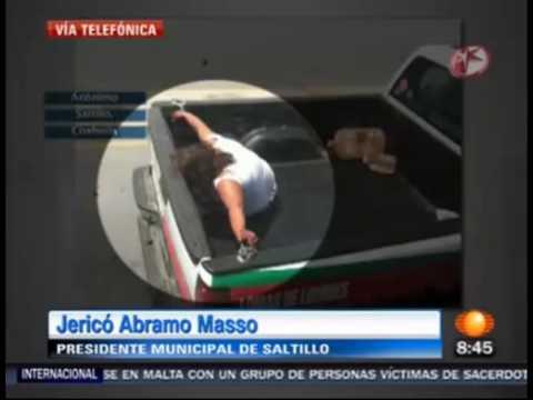 Mujer detenida en Saltillo Trasmitido en Primero Noticias