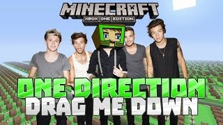 DRAG ME DOWN - One Direction - Minecraft Xbox One Noteblock Song