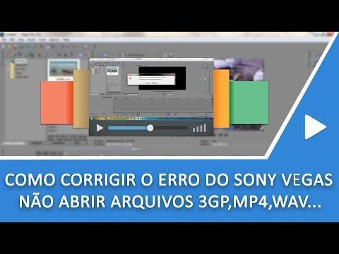 Xxx Mp4 Sony Vegas Como Corrigir O Erro De Não Abrir Arquivos 3GP MP4 AVI MKV MOV 3gp Sex
