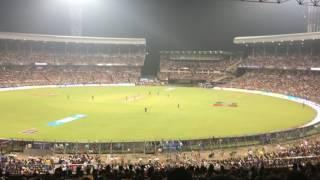 Eden Gardens Kolkata IPL Match Kolkta vs Mumbai 2017 Full House 65000 People