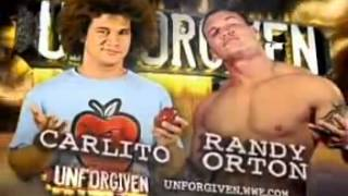 WWE Unforgiven 2006 Match Card