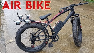 Build a Air Bike at home - with v4 775 Motor