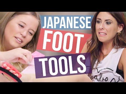 4 Weird Japanese Foot Tools Beauty Break