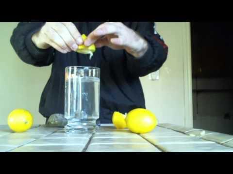 LEMON BAKING SODA WATER