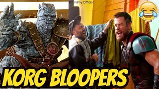 """Thor: Ragnarok """"KORG"""" Bloopers and Gag Reel - Try Not To Laugh 2018"""
