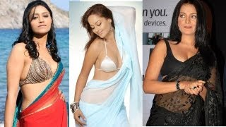 How To Look More Sexy In A Saree