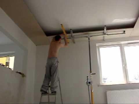 Sufit podwieszany Drywall ceiling