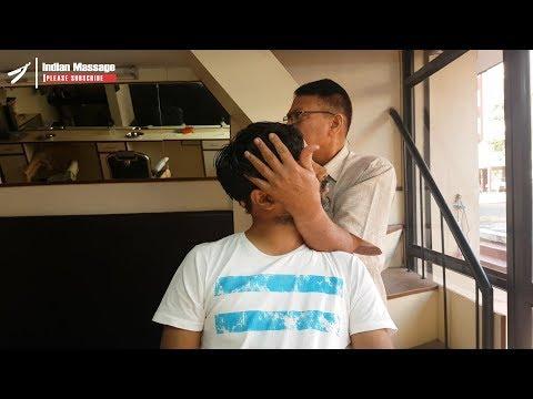Xxx Mp4 ASMR Old School Head Massage With Cracking 3gp Sex