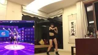 Hotgirl nhảy Audition y như game
