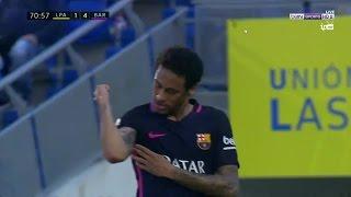 أهداف مباراة برشلونة ولاس بالماس 4-1 | شاشة كاملة الدوري الاسباني