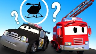 Car Patrol -  Where is Hector ? - Car City ! Police Cars and fire Trucks for kids
