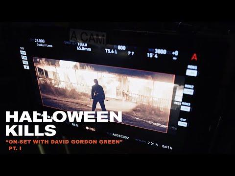 Halloween Kills On Set with David Gordon Green Pt. I