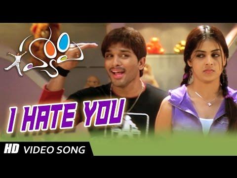 Xxx Mp4 I Hate You Full Video Song Happy Movie Allu Arjun Genelia 3gp Sex
