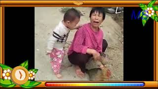 A very interisting video a child weeping
